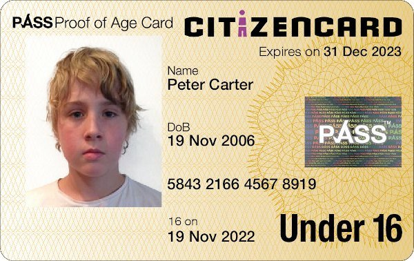 Online Apply Uk - A Citizencard Id For Card