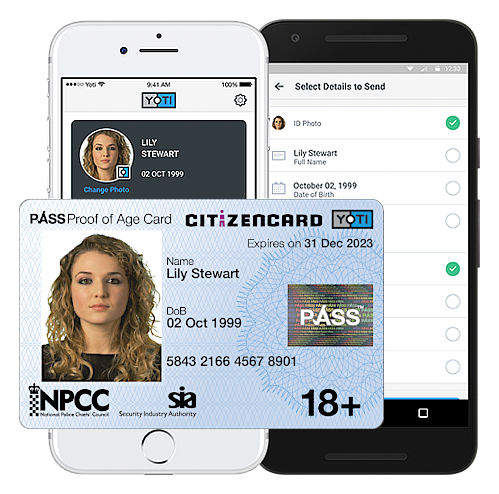 Yoti CitizenCard ID solution - a UK ID card and free digital ID